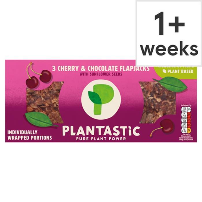 Plantastic Flapjacks 3 pack using code GRKL4P