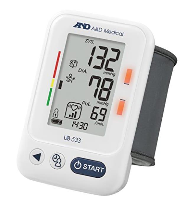 A&D Medical UB-533 Wrist Blood Pressure Monitor