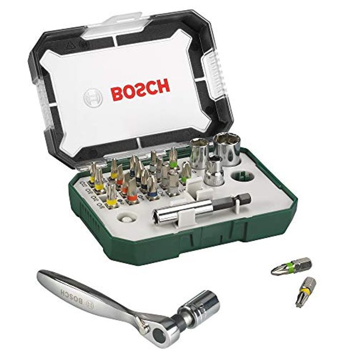 Bosch 2607017322 Rainbow Evo Set Screwdriver with Small Ratchet - Only £10.99!