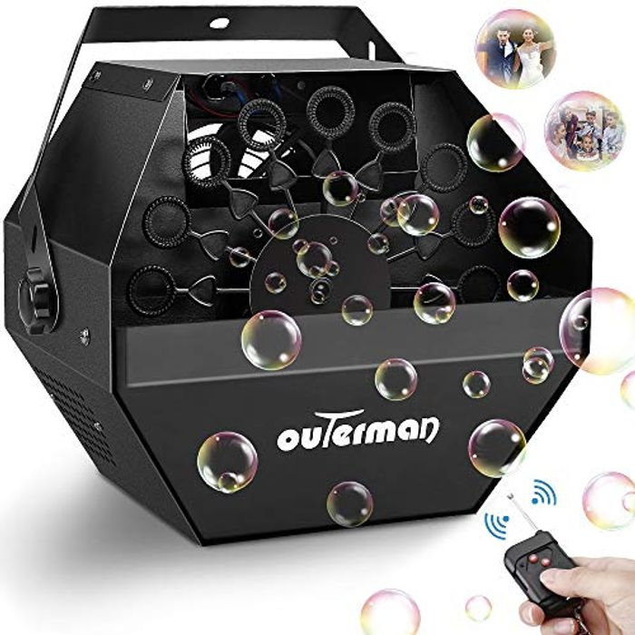 DEAL STACK - Outerman Bubble Machine + 5% Coupon