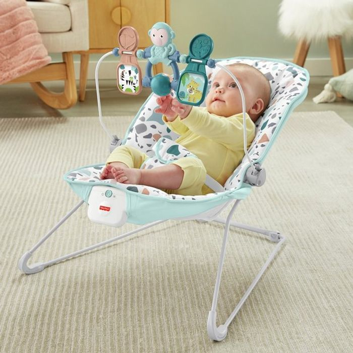 Fisher-Price Signature Terazzo Baby Bouncer £9.99 with Code
