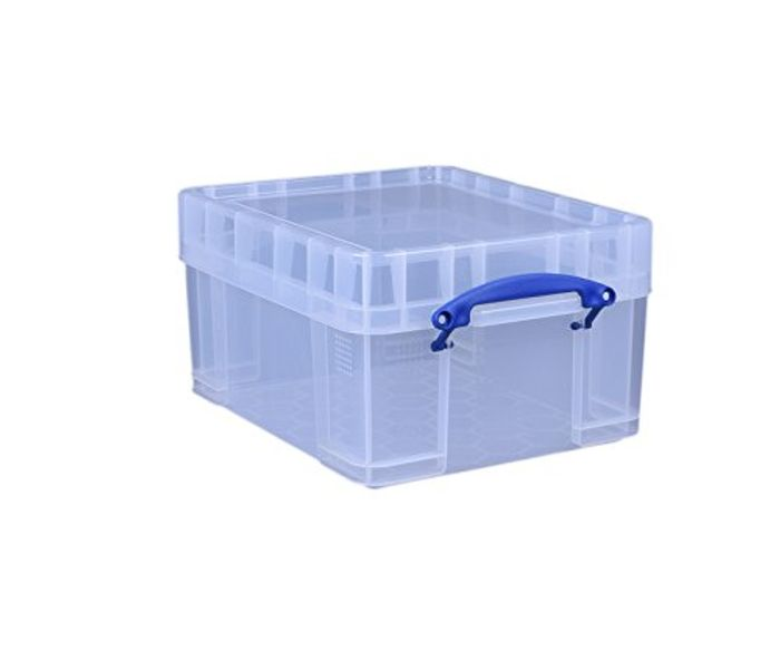 Really Useful Storage Box 21 Litre XL Clear