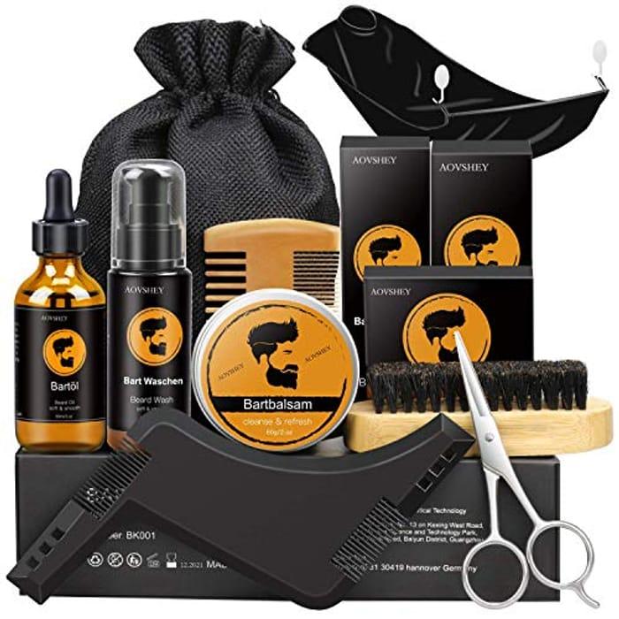 Best Price! 9 in 1 Beard Grooming & Growth Kit