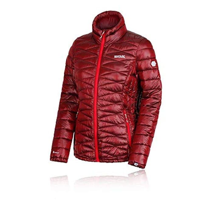 Regatta Women's Metallia Lightweight Water Repellent Insulated Jacket Red