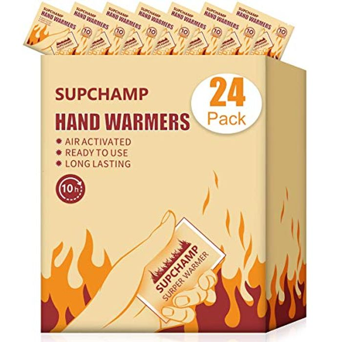 24 PCS Disposable Hand Pocket Glove Warmers - 50% Off