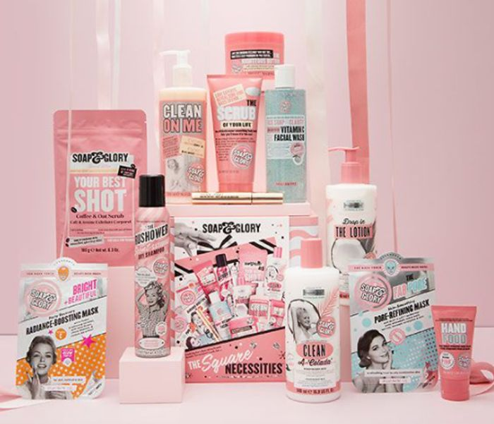 BUY NOW! Big Star Gift - Soap & Glory The Square Necessities Tin
