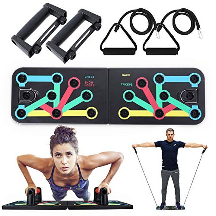 Price Drop! Push up Board, 10 in 1