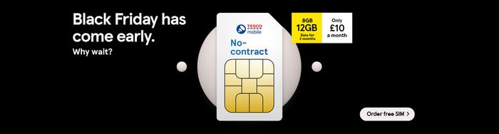 Free Tesco Mobile Sim Card