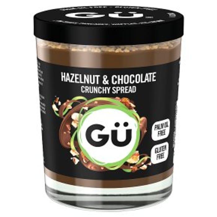 CHEAP! Gu Hazelnut & Chocolate Crunchy/Velvety or Chocolate & Caramel Spread