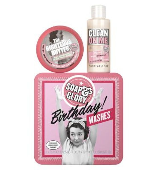 In Stock: Soap & Glory Birthday Wishes Body Gift Set,save 25% Online & In Store