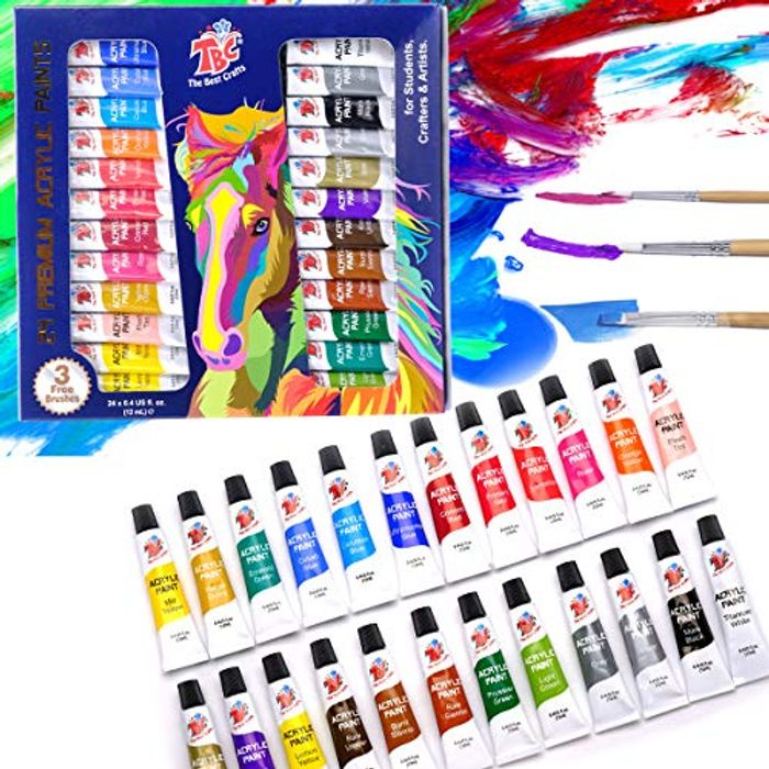 LIGHTNING DEAL - TBC the Best Crafts 24 Colours