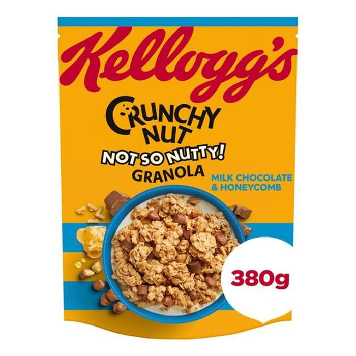 Kellogg's Crunchy Nut Granola Milk Chocolate and Honeycomb 380g