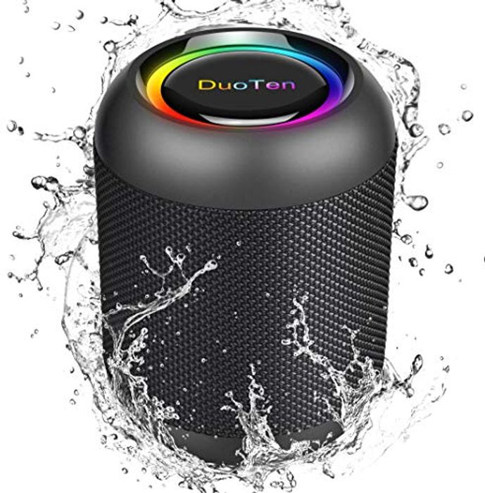IPX7 Portable Bluetooth Speaker with 24 Hours Playtime