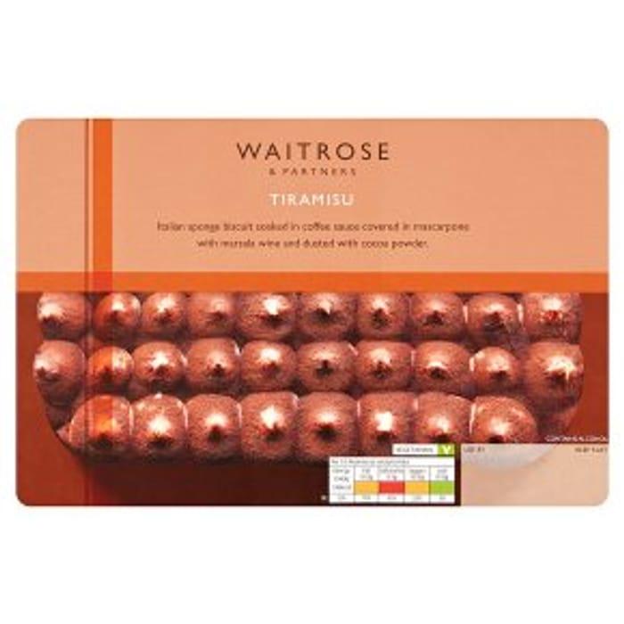 Waitrose Tiramisu 500g - Only £1.5!