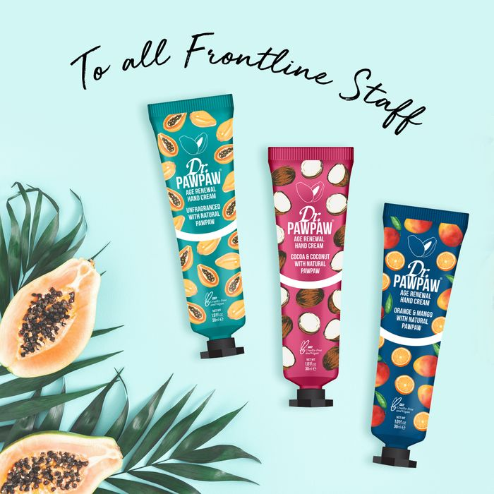 Frontline Workers Can Claim TWO FREE HAND CREAMS! (Was £13.90)