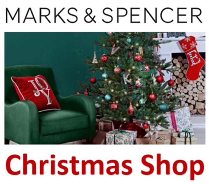CHEAP! Marks & Spencer Christmas Shop - M&S Christmas Gifts