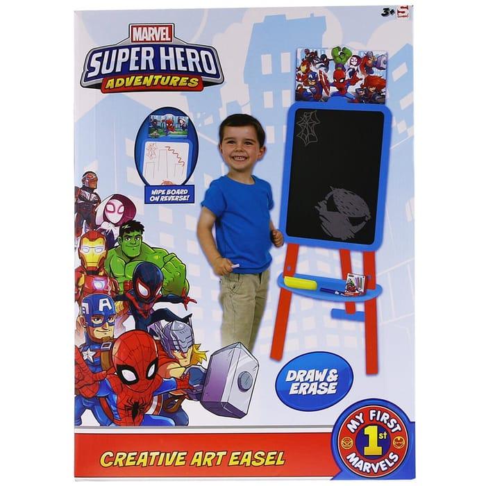 Marvel Super Hero Adventures Creative Art Easel