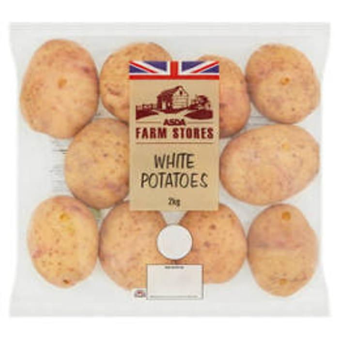 ASDA Farm Stores White Potatoes