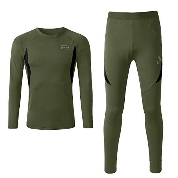 BELAROI Men's Thermal Underwear Set - Only £6.65!