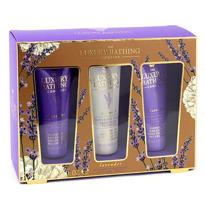 Grace Cole Luxury Bathing Company Calming Trio Lavender