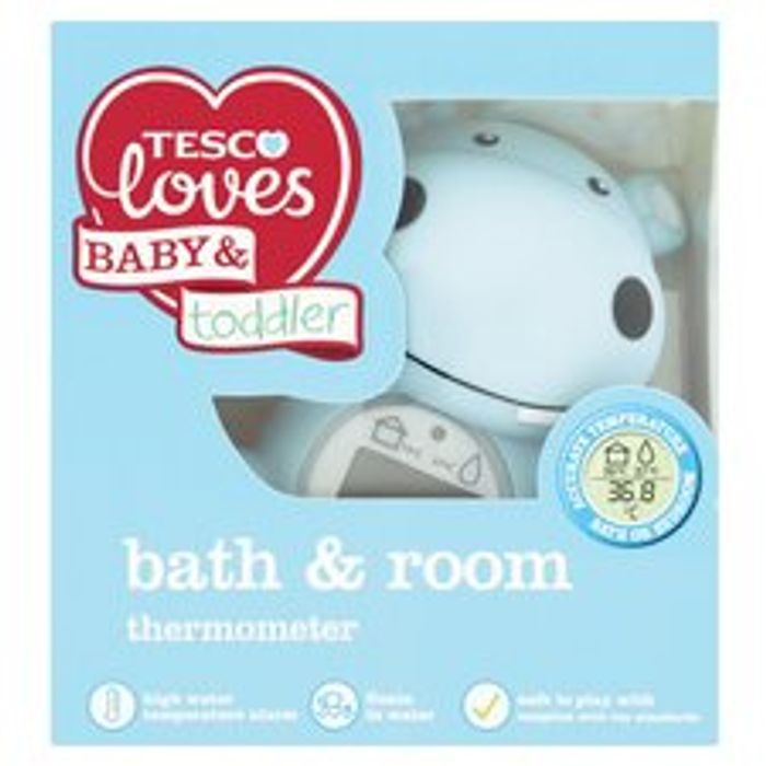 Fred&Flo Bath & Room Thermometer - Only £3.8!