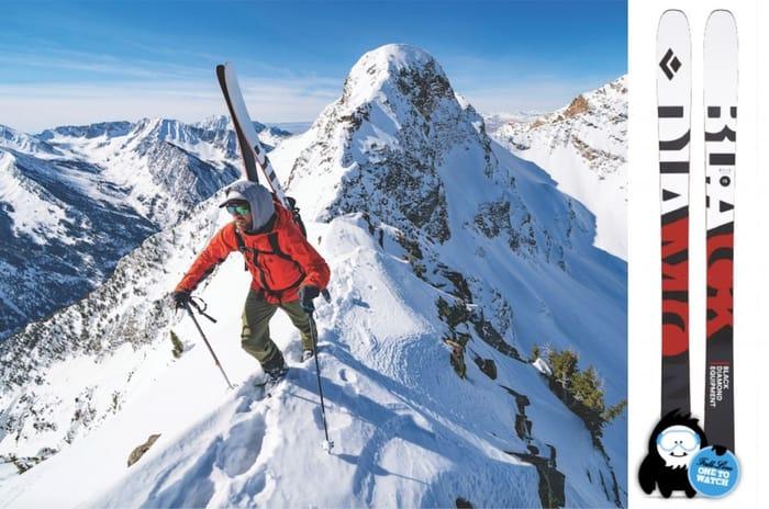 Win Black Diamond Helio Carbon 95 Skis worth £650