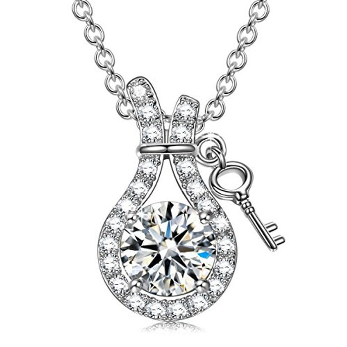 LEITON 925 Sterling Silver Necklace