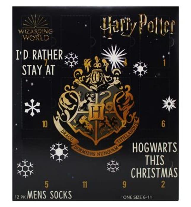 CHEAP! Harry Potter Sock Advent Calendar Online & InStore