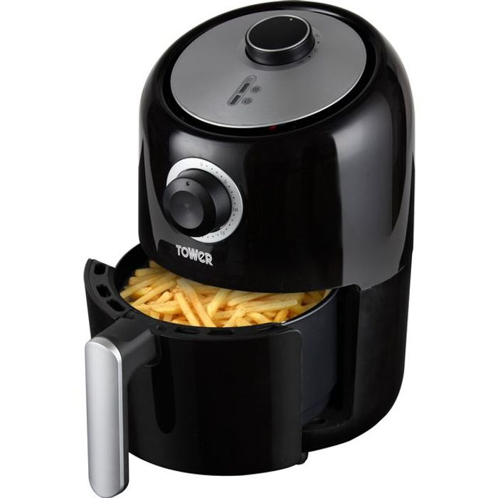 Best Price! Tower 1.6L Air Fryer Air Fryer - Black