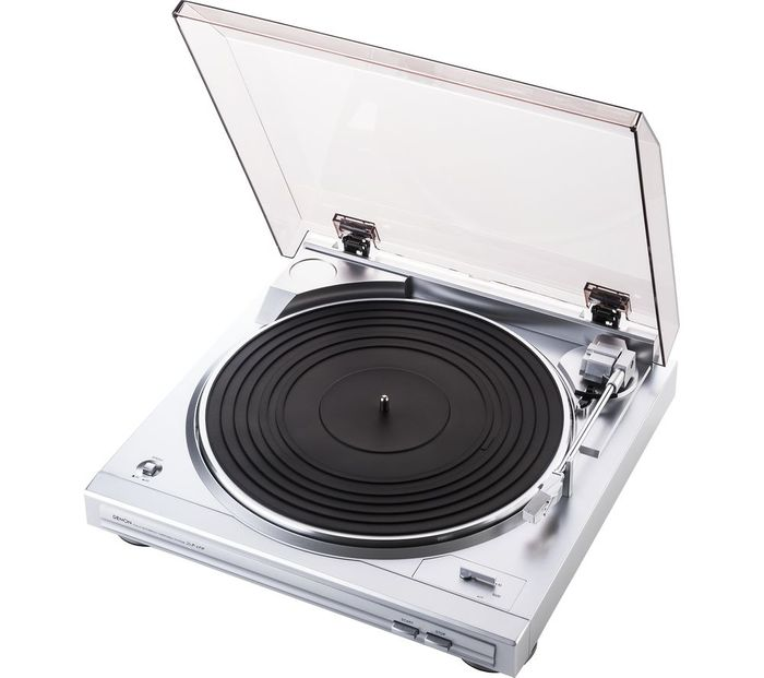 *SAVE over £49* DENON Belt Drive Turntable - Silver