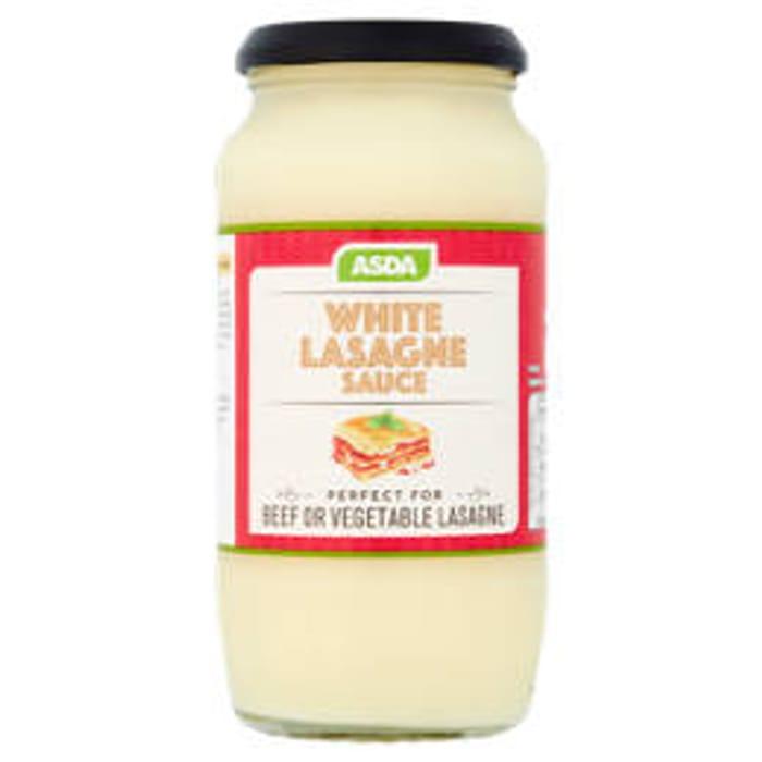 Cheap ASDA White Lasagne Sauce Only £0.52!