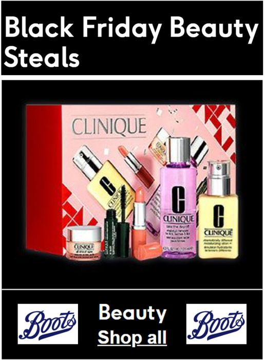 Special Offer - Boots Black Friday - 30+ BEAUTY STEALS