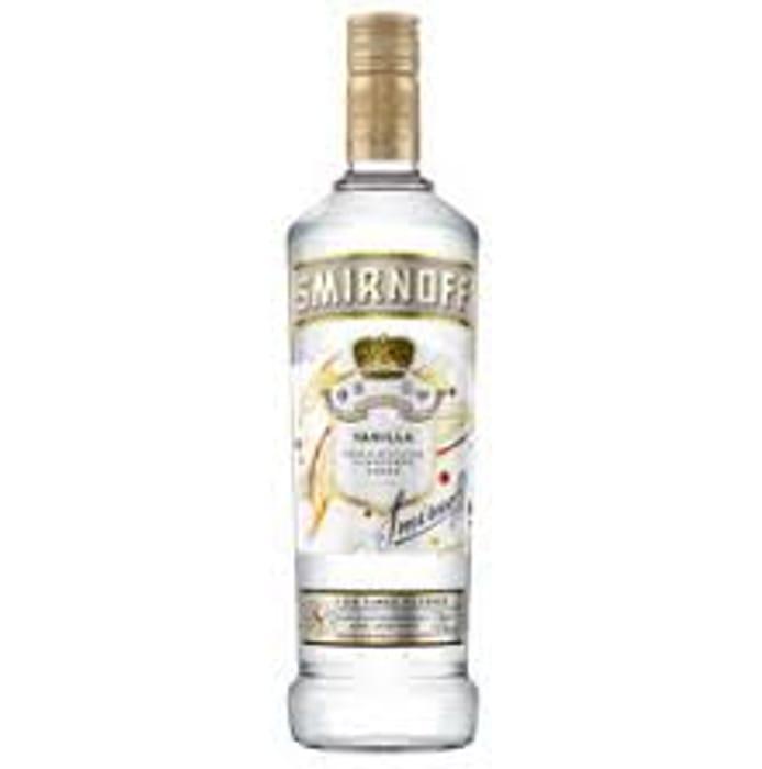 Smirnoff Premium Vanilla Vodka 70cl - Only £13!