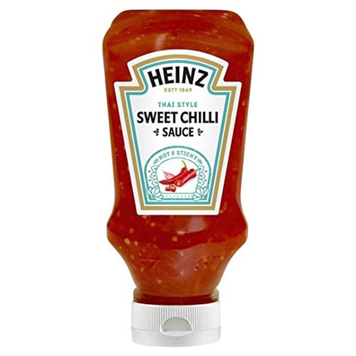 Heinz Sweet Chilli Sauce, 220ml on Sale From £1.57 to £0.99