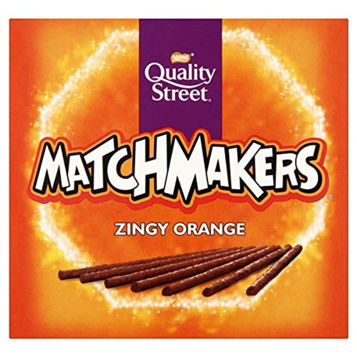 Quality Street Matchmakers Zingy Orange Chocolates, 120g