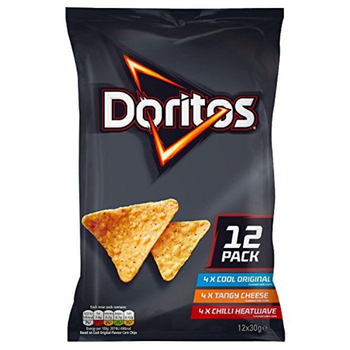 Doritos Variety Pack 12x30g - Only £1.5!