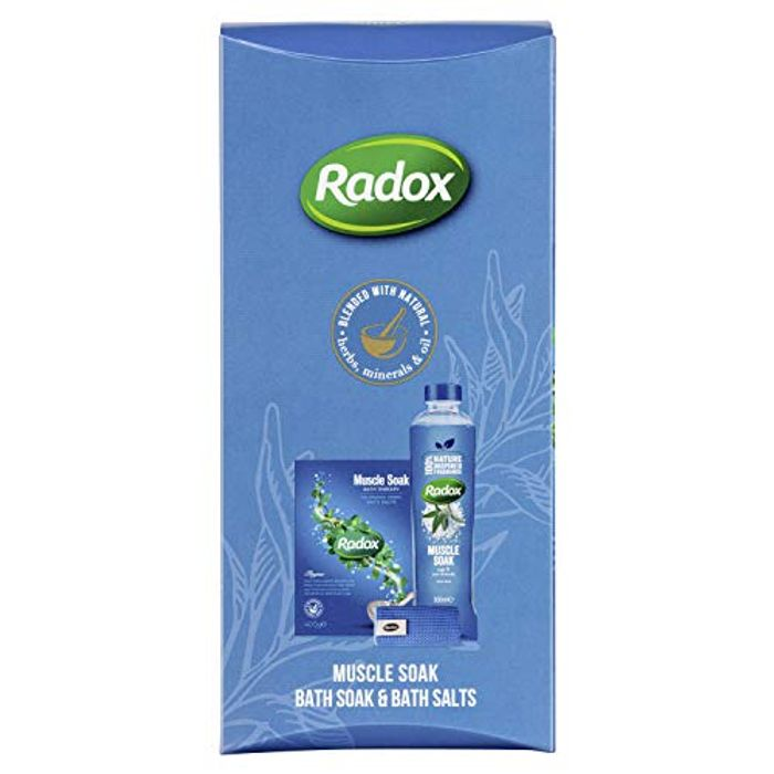 Radox Muscle Soak, Therapeutic Relaxation Scented Shower and Bath
