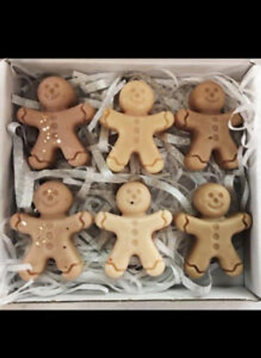 Gingerbread Men Wax Melts X6 Christmas
