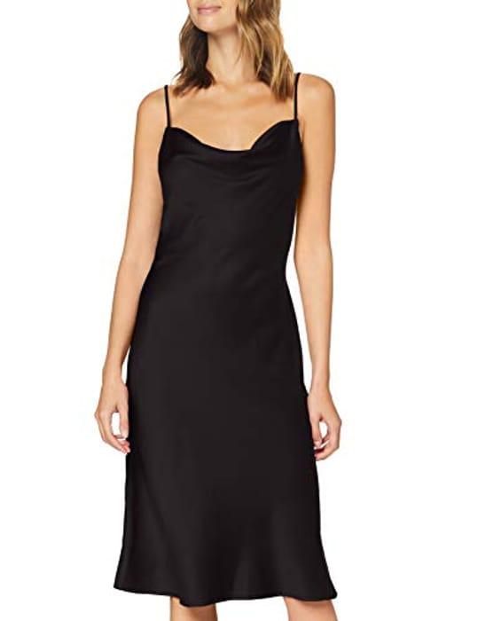 Amazon Brand - Find. Women's Midi Satin Dress
