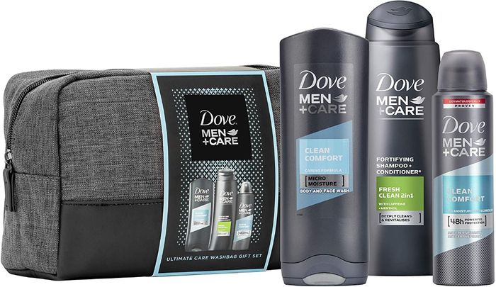 DOVE MEN + CARE Wash Bag Christmas Gifts for Men - PRICE DROP