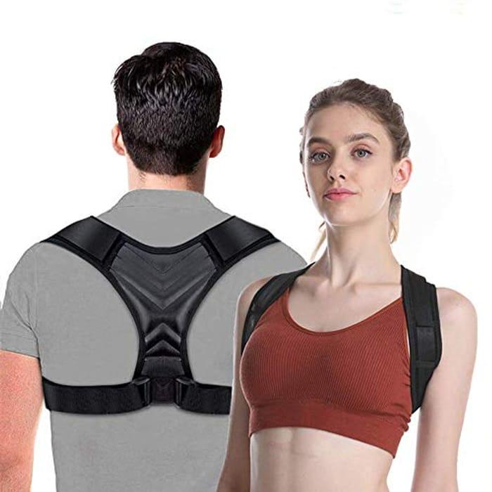 Back Support for Posture Correction, Adjustable Posture Brace