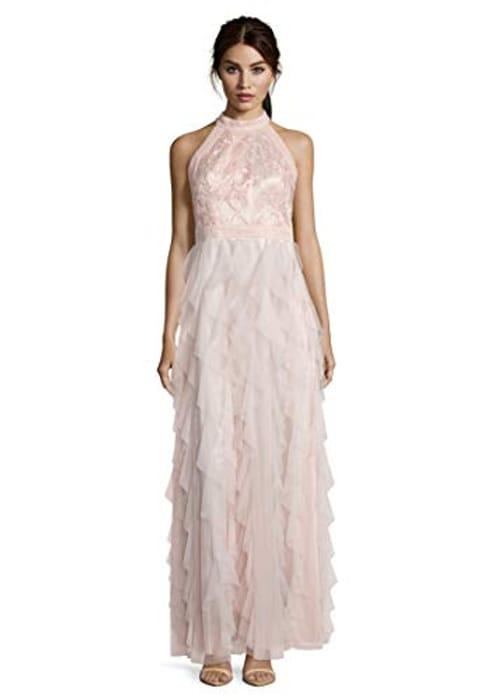 Pink Vera Mont VM Women's Party Dress Size 14