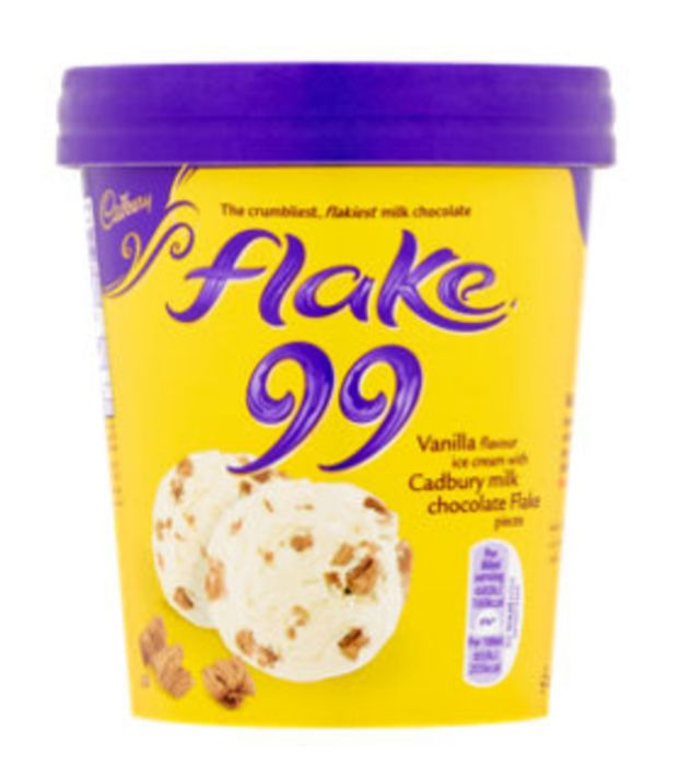 Cadbury Flake Ice Cream 480ml