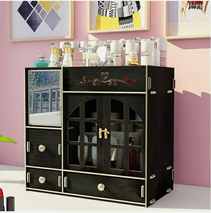 Makeup Organizer Box Drawer (Available in 3 Colours)