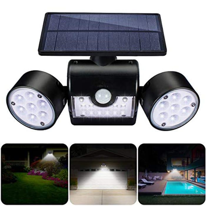 30 LED Solar Motion Outdoor Light - £13.99