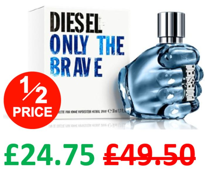 Diesel Only The Brave EDT Spray for Men 50ml