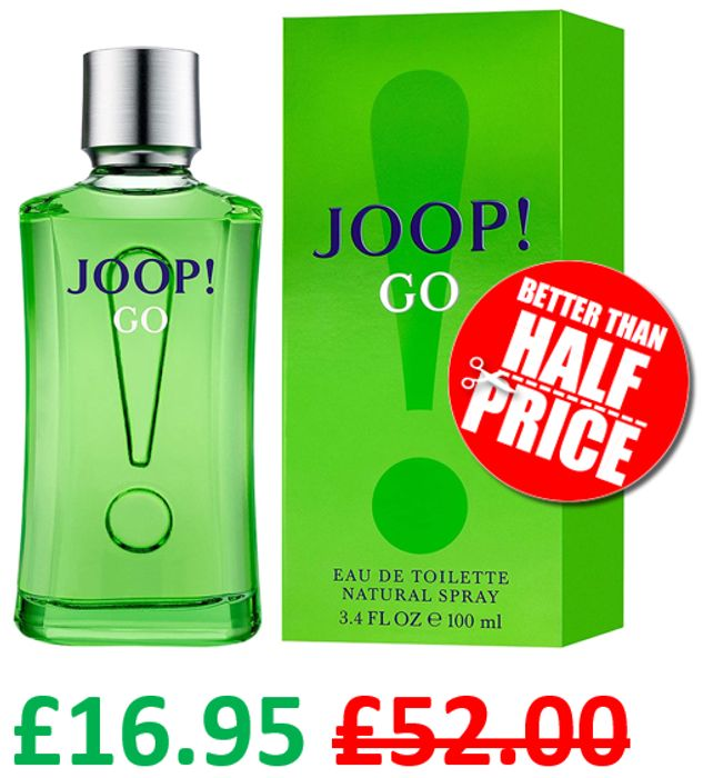 Joop! Go! EDT for MEN, 100ml