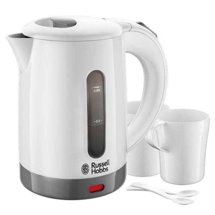Russell Hobbs 23840 Travel Kettle Set £5 at B&M