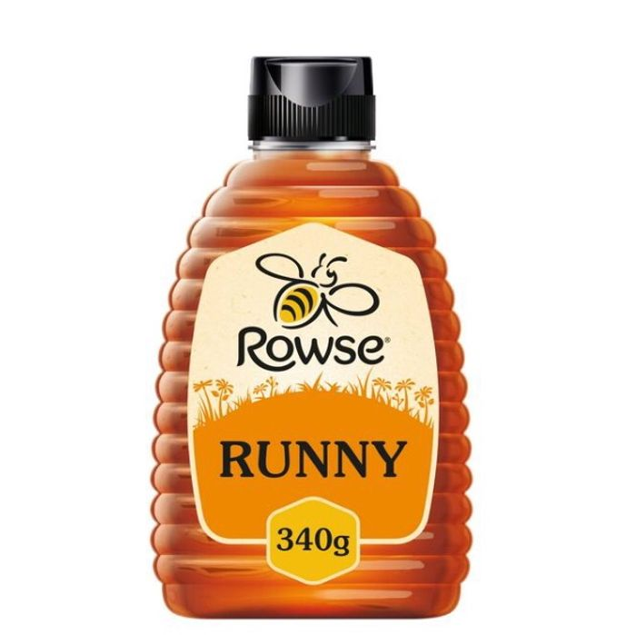 Rowse Natural Blossom Honey Squeezy 340g