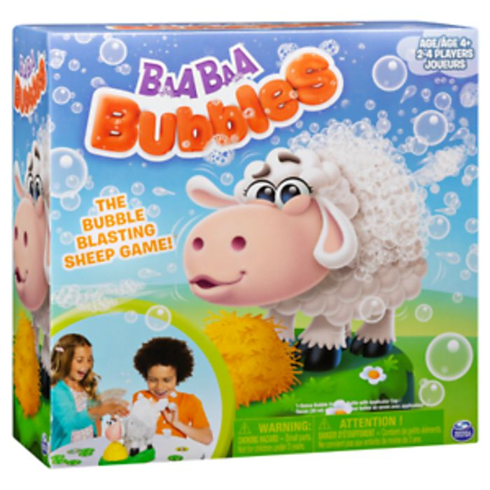 Baa Baa Bubbles Bubble-Blasting Game